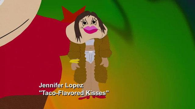 Taco-Flavor Kisses - Video Clip | South Park Studios
