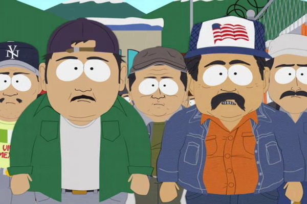 south park episode about mexican essay This week's episode of south park took the boys far away from colorado, way down to a standoff between mexican immigrants and border patrol in texas h.