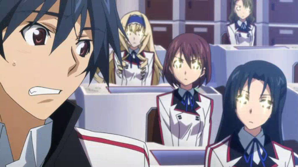 Infinite Stratos Episode 1