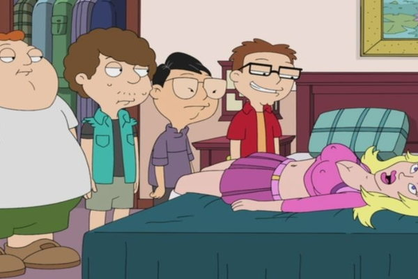Well understand American dad sex doll
