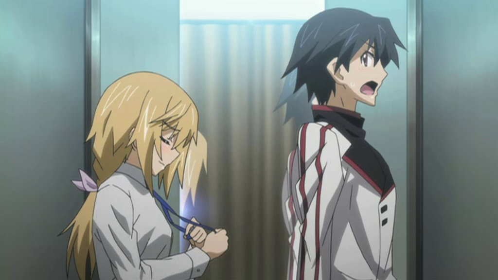 Infinite Stratos Episode 9
