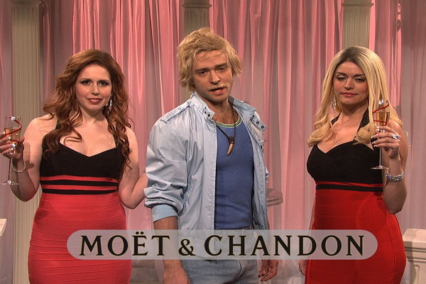 Saturday Night Live Moet Chandon Clip Hulu