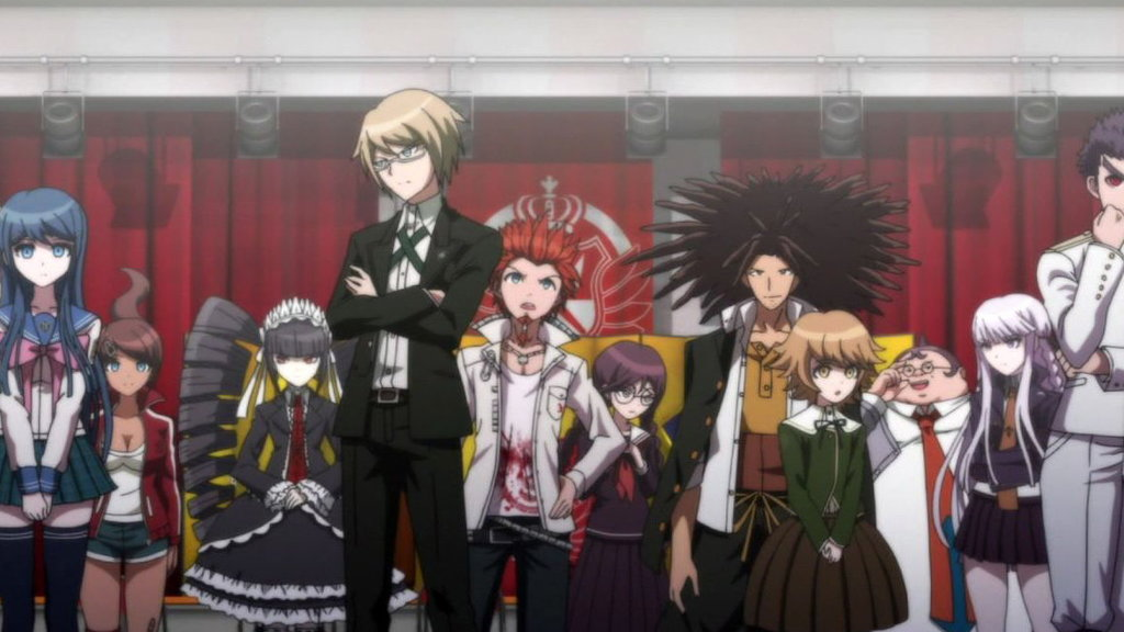 Danganronpa The Animation Episode 1