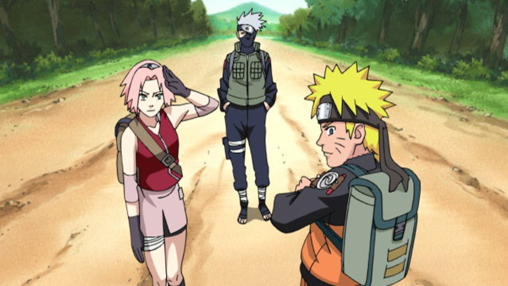 Watch Naruto Shippuden Episode 8 Online - (Dub) Team Kakashi