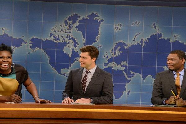 Saturday Night Live: Weekend Update: Leslie Jones On Relationships