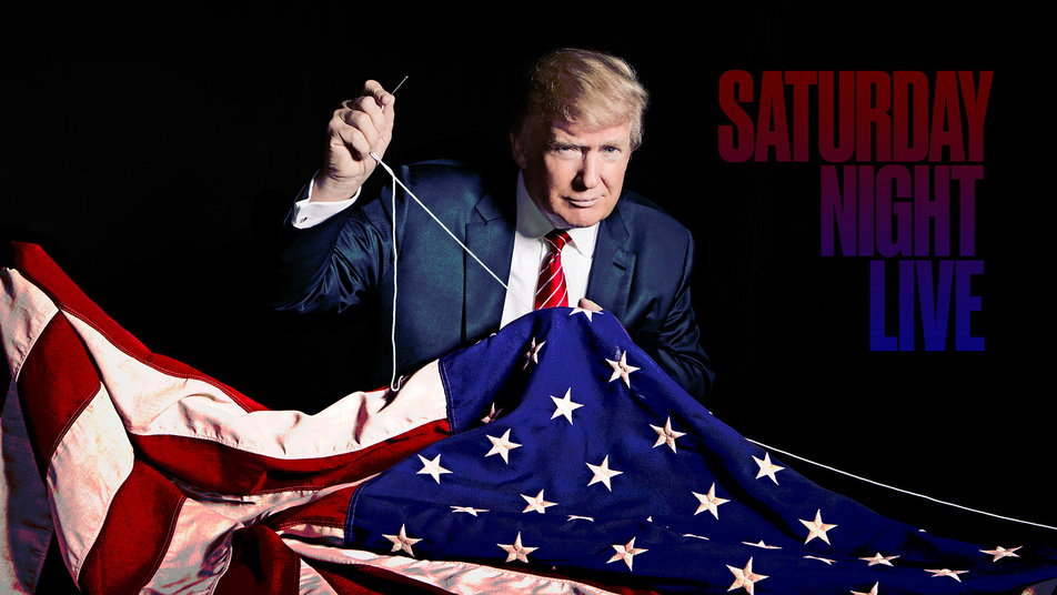 Image result for trump sewing flag snl