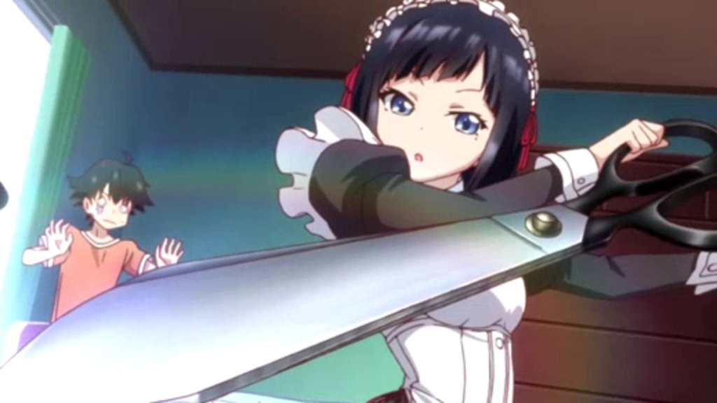 Watch Shomin Sample Episode 8 Online - (Sub) Aika-sama Has a Lot of Friends    Anime-Planet