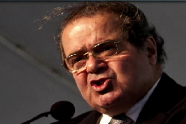 scalias idea of originalism Most liberals are not publicly admitting relief at anton scalia's death because they don't want to appear unseemly the conservatives who are happy about his passing, and there are more than the popular narrative will admit, won't fess up either for fear of being labeled a rhino.