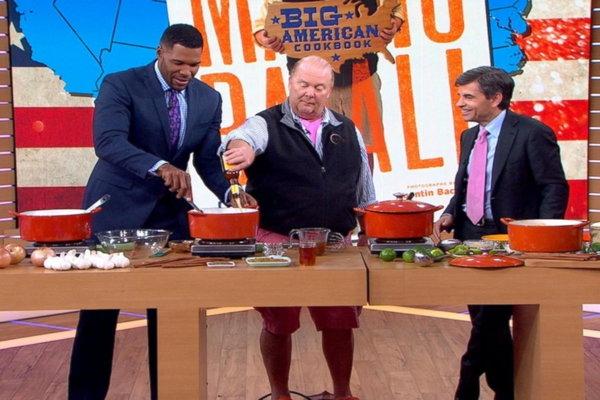 Good Morning America Hulu : Watch good morning america mario batali cooks american