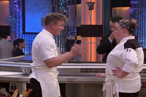 Hell Kitchen Heather Given Her First Test Clip Hulu