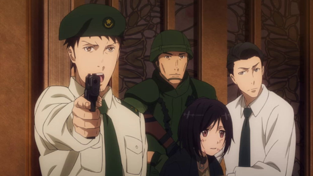 Watch GATE Episode 14 Online - (Dub) The Great Quake at the